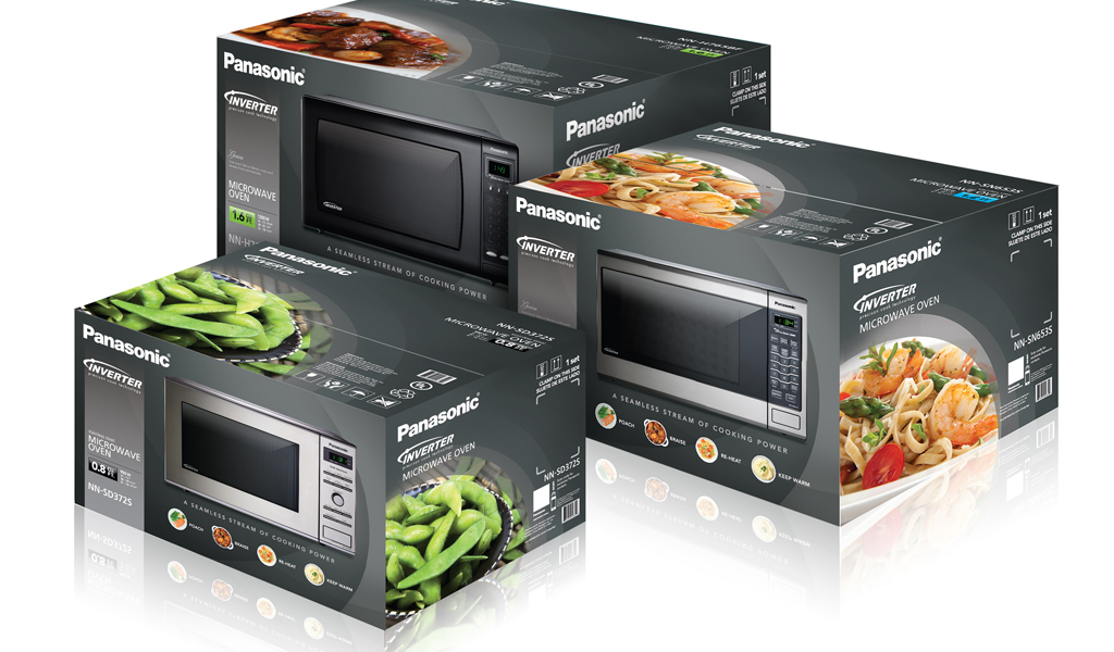 PANASONIC INVERTER MICROWAVES