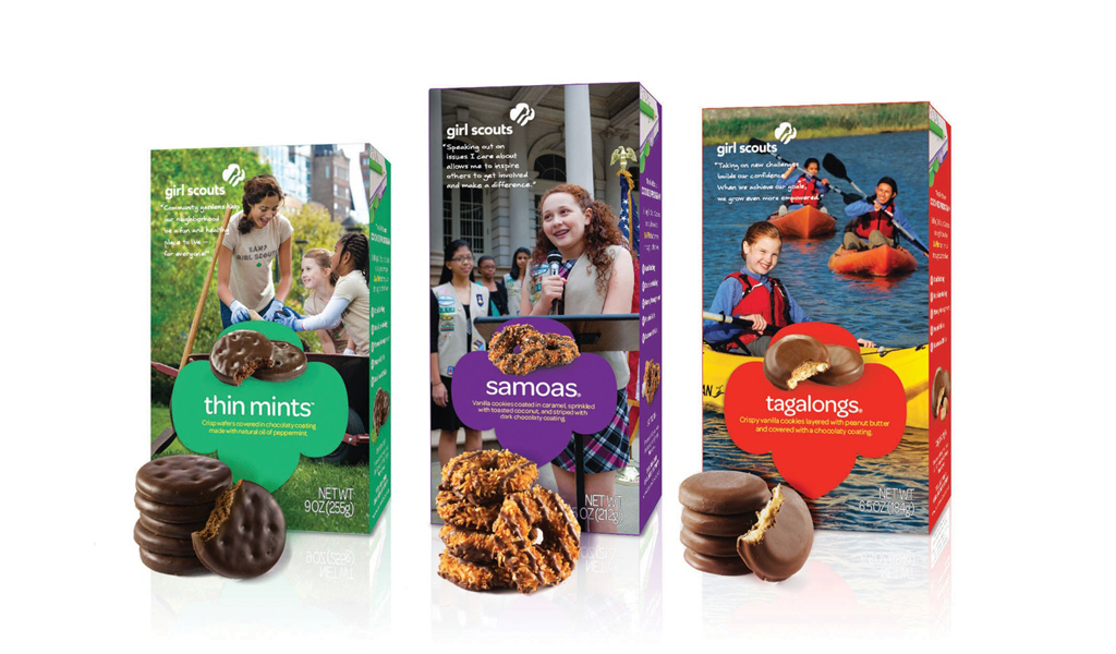 GIRLS SCOUTS COOKIES REDESIGN